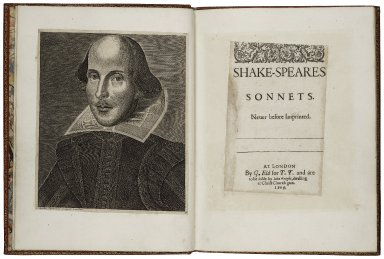 [Sonnets] Shake-speares sonnets. Neuer before imprinted.