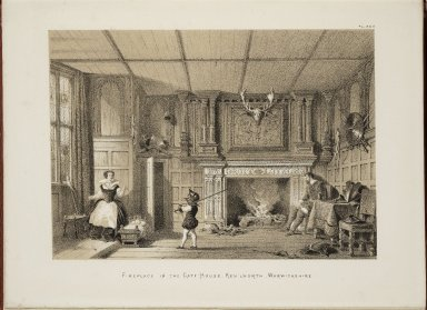 The mansions of England in the olden time...