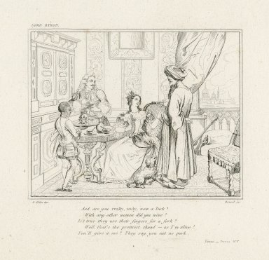 And are you really, truly, now a Turk? ... Beppo [by Byron] [graphic] / A. Colin inv. ; Reveil sc.