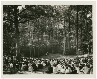 [Productions of the Carolina Players of the University of North Carolina in the Forest Theatre, 1919-1943] [graphic].