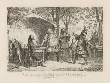 Sir John Falstaff knight [a series of engravings] [graphic] / drawn by Willm. Shakespear [ie George Cruikshank] ; etched by Geo. Cruikshank.