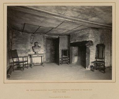 Shakespeare's birthplace, interior views [graphic].
