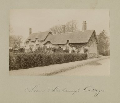Anne Hathaway's cottage, exterior views [graphic].