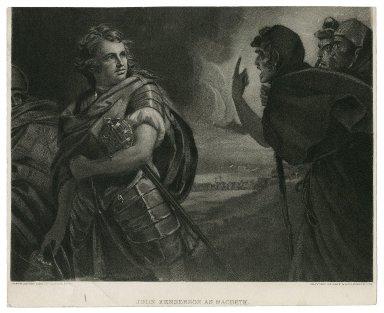 John Henderson as Macbeth [in Shakespeare's Macbeth] [graphic] / Gravure Gebbie & Husson Co. Ltd.