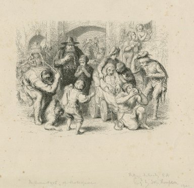 The seven ages of man (As you like it) [graphic] / W. Mulready pinxt. ; engd. by John Thompson.