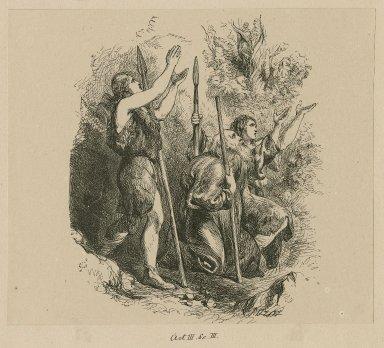 [Cymbeline] act III, sc. III [graphic] / [John Gilbert] ; Dalziel [bros.]