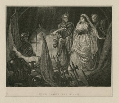 King Henry the Sixth, [part I, act II, scene 3] [graphic] / Opie, R.A.