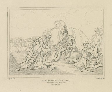 King Henry 6th (third part) ... act II, scene 5 [graphic] / Boydell, del. ; Starling, sc.
