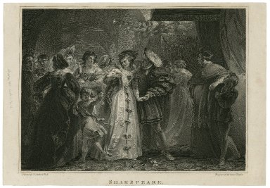 Shakspeare : King Henry the Eighth, act I, scene IV [graphic] / painted by T. Stothard ; engraved by Isaac Taylor.