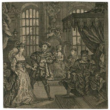 [King Henry VIII, act I, scene 4] [graphic].