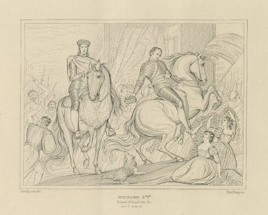 King Richard the Second, act V, scene II [graphic] / Northcote, del. ; Starling, sc.