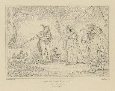 Love's labor's lost, Princess, Rosaline, &c. [graphic] / Hamilton, del. ; Starling, sc.