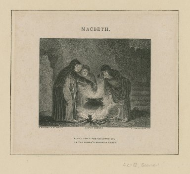 Macbeth, act IV, scene 1 ... [graphic] / H. Howard R.A. pinxit. ; J. Thompson sc.