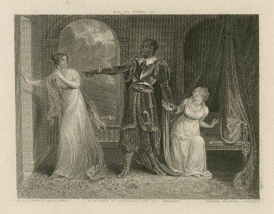[Othello] act IV, scene II [graphic] / H. Thompson R.A. pinxit. ; James Neagle.