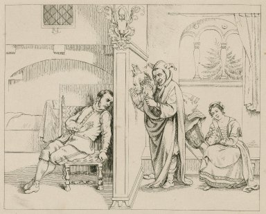 [A series of engravings illustrating scenes from] Twelfth night [graphic] / SRL.