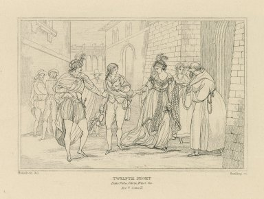 Twelfth night [a series of engravings] [graphic] / Hamilton del. ; Starling sc.