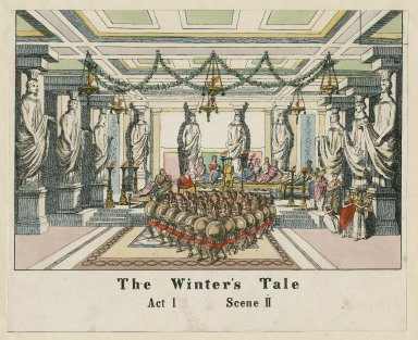 The winter's tale, act I, scene II [graphic].
