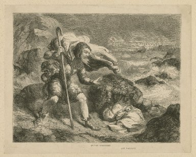 [Winter's tale], an old shepherd, act 3, scene 3 [graphic] / T.H. Nicholson ; C.W. Sheeres.