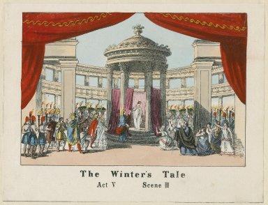 The winter's tale, act V, scene III [graphic].