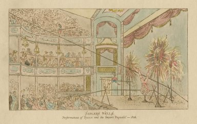 Sadlers Wells, performances of Paulo and the Infant prodigy -- 1816 [graphic].