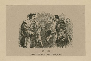 [All's well that ends well by Shakespeare : set of 13 engravings illustrating the play] [graphic] / [J. Gilbert ; Dalziel sc.].