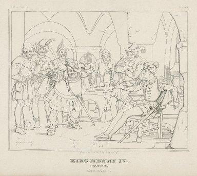 King Henry IV, part I [a series of 6 engravings, nos. 2-6, 8] [graphic] / Moritz Retzsch invt. delt. & sculpt.