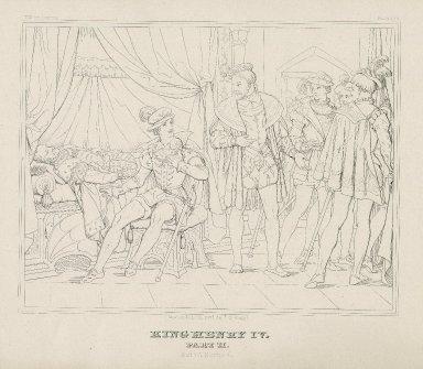 King Henry IV, part II [a series of 5 engravings] [graphic] / Moritz Retzsch invt. delt. & sculpt.