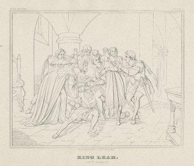 King Lear [a series of 12 engravings] [graphic] / Moritz Retzsch invt. delt. & sculpt.