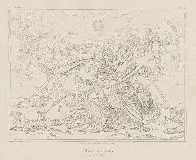 Macbeth [a series of 12 engravings] [graphic] / Moritz Retzsch invt. delt. & sculpt.