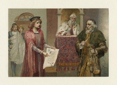 [Merchant of Venice IV, 1] [graphic].