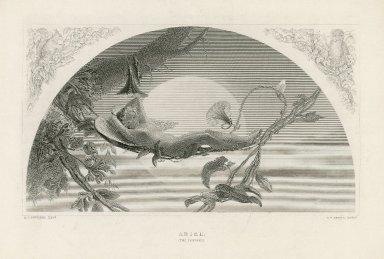 Ariel [in the Tempest] [graphic] / H.J. Townsend pinxt. ; C.W. Sharpe, sculpt.