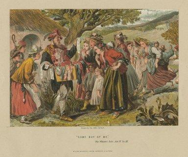 Winter's tale, act IV, sc. 3 [i.e. sc. 4] : come buy of me [graphic] / J. Gilbert, del.