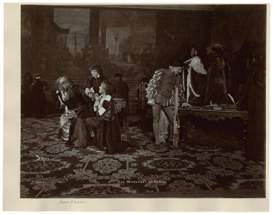 [A production of] The merchant of Venice [starring] Jacob P. Adler [graphic] / Byron.