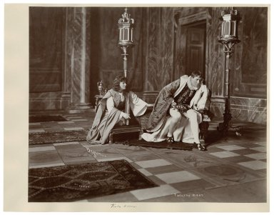 Twelfth night [27 photographs of a production starring Viola Allen as Viola, performed in 1903] [graphic] / Byron, N.Y.