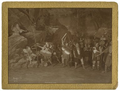 [7 photographs of a production of] Cymbeline [starring] Viola Allen [performed in 1906] [graphic].