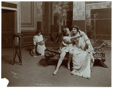 [11 photographs of a production of Winter's tale, starring Viola Allen, performed in 1904] [graphic] / Byron.