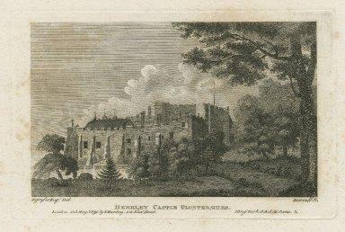 Berkley Castle, Glostershire [graphic] : King Rich. II, act 2, scene 3 / F. Grosse Esq., del. ; Birrell, sc.