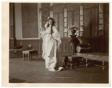 [Two photographs of] Maxine Elliott [as Portia in Shakespeare's play] Merchant of Venice [graphic] / [Byron].