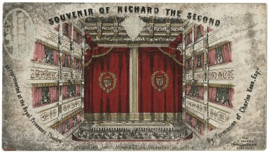 Souvenir of Richard the Second as represented at the Royal Princess's Theatre ...