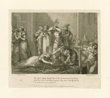[Execution of Mary, Queen of Scots] [graphic] / J.F. Rigaud R.A., pinx. ; W.N. Gardiner, sc.