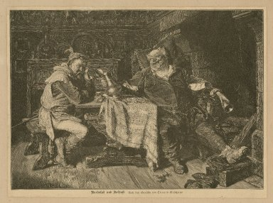 [King Henry IV, parts I & II, scenes from the plays] [graphic] / Ed. Grützner.