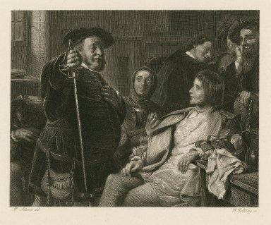 [Henry IV 1st part, act 11 [sic] , sc. iv] [graphic] / M. Adamo del. ; G. Goldberg sc.