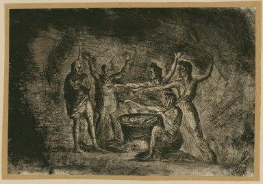 All hail Macbeth, thane of Glamis, thane of Cawdor, hail Macbeth thou shalt be king hereafter [graphic] / [Lucas].