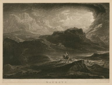 Macbeth, act I, scene 3 [graphic] / Drawn by John Martin ; engraved by Thos. Lupton.