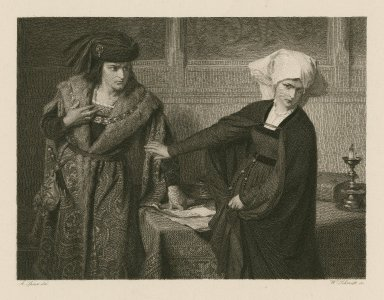 [Measure for measure, act II, sc. iv.] [graphic] / A. Spiess, del. ; W. Schmidt, sc.
