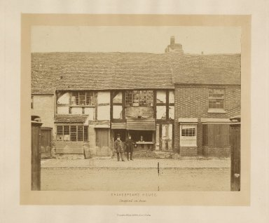 Shakespear's house, Stratford on Avon [graphic] / photographed ... by Poulton.