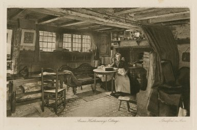 Anne Hathaway's cottage ... [graphic] / engraved [and] printed by Stas Walery & Co.