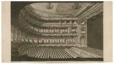[Interior of a theatre, probably Covent Garden] [graphic] / J. Winston del. ; Storer sc.