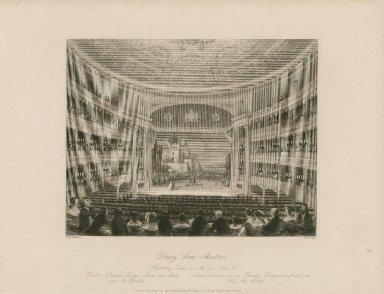 Drury Lane Theatre, wrestling scene in As you like it ... [graphic] / T.H. Shepherd ; T.H. Ellis.