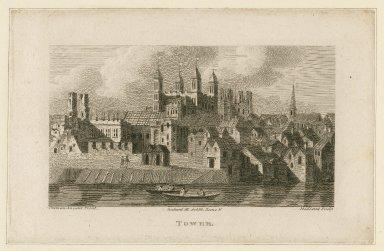Tower, Richard III, act III, scene 5 [graphic] / Medland, sculp.